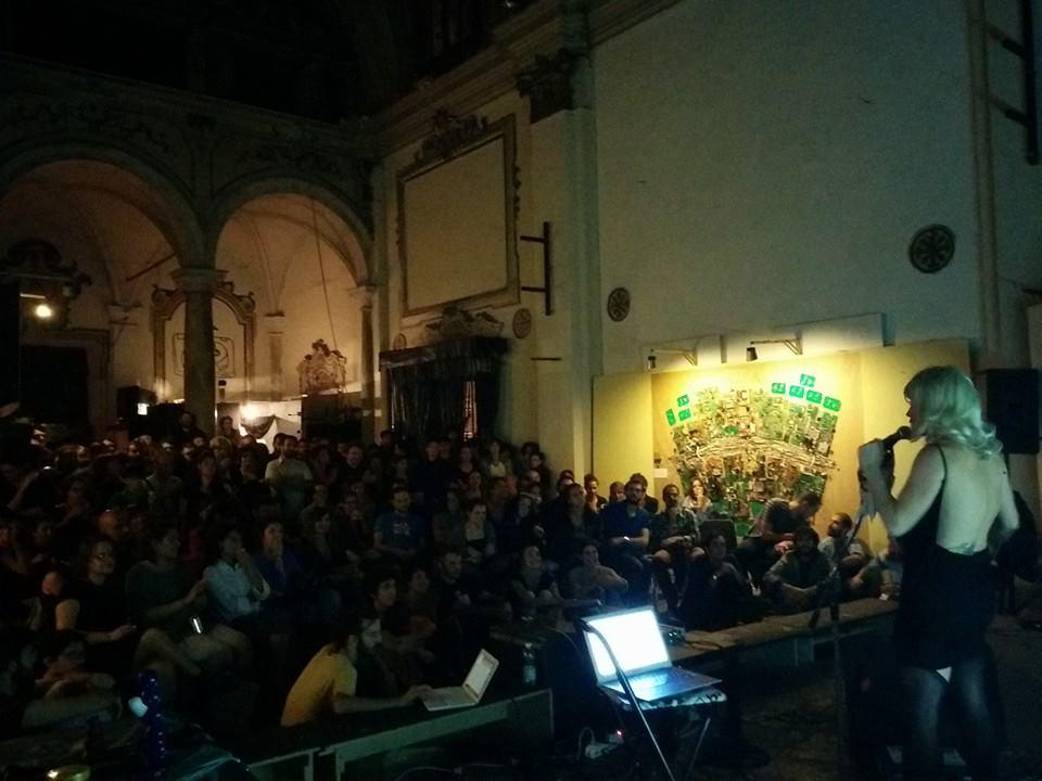Devenir Perra al Festival iOff di Pisa (foto di C. Coppola)