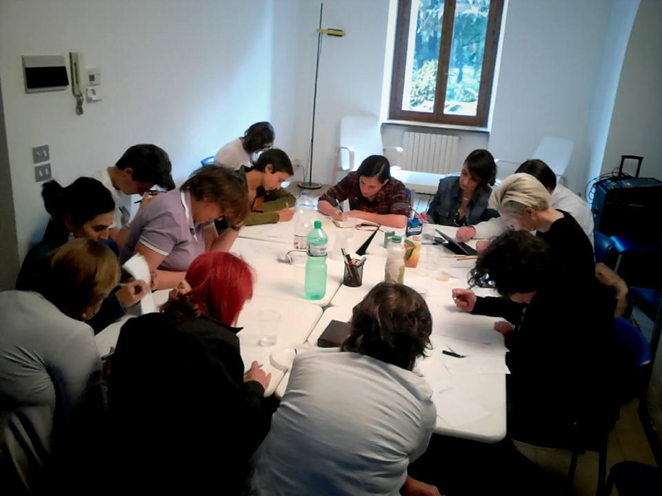 le parole che non o/so dire (Milano, maggio 2015)