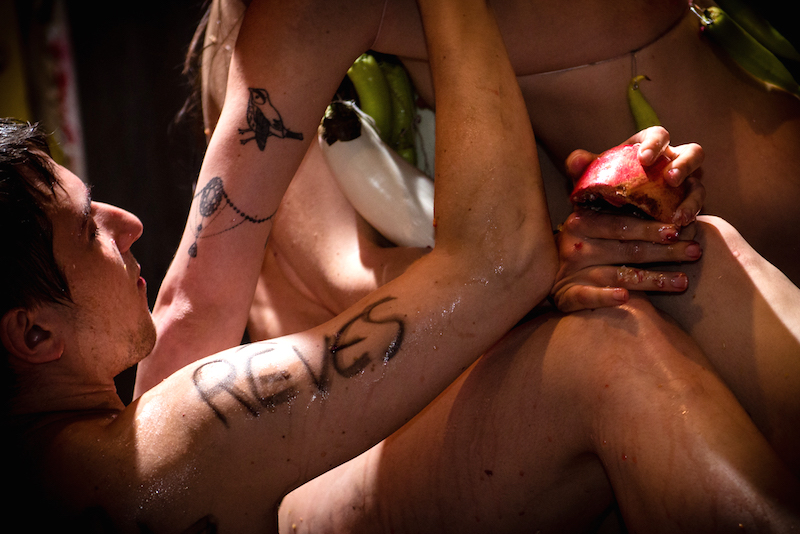immagine di H. Passarello dal cabaret L'euphorie du corps rebelle